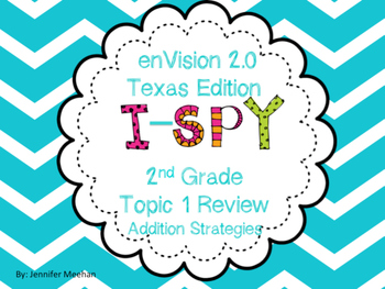 enVision Topic 1 I-SPy Review