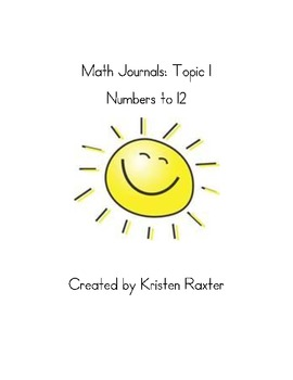 enVision Topic 1 Math Journal Prompts