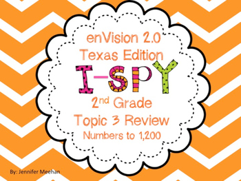 enVision Topic 3 I-SPy Review