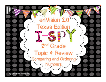 enVision Topic 4 I-SPy Review