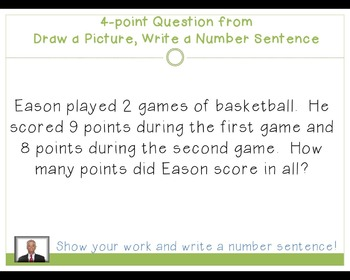 enVision 2011 Topic 6 Jeopardy for 1st Grade