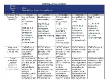 SDP enVision2.0 Topic 13 lesson plans