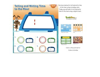 enVisionMATH Pearson Topic 13 Time