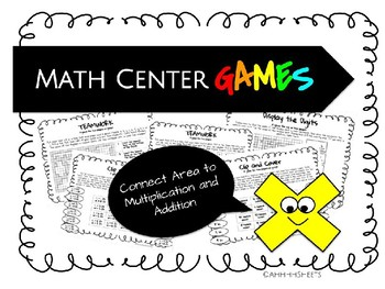 enVisions 2.0 Games Gr3 Topic 6 - Connect Area to Multiplication and Addition