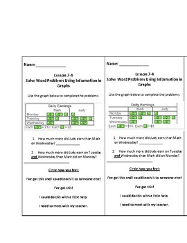 enVisions 2.0 Grade 3 Topic 7 Exit Tickets