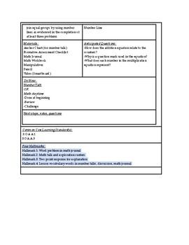 enVisions Math Topic 1 Grade 3 Lesson Plans
