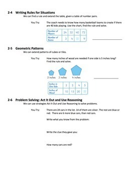 enVisions Topic 2 Study Guide Practice for Grade 4
