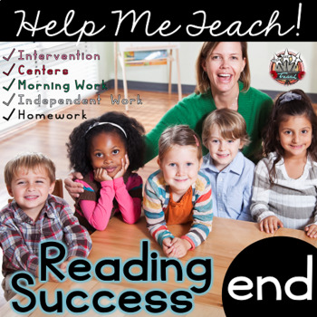 end Word Family: Intervention, Homework, Morning Work, Centers,