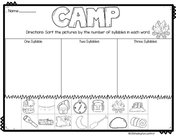 end of the year - camping activities