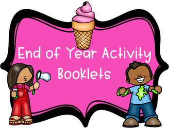 end of year booklets - science booklets