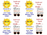 end of year tags for sunglass gifts