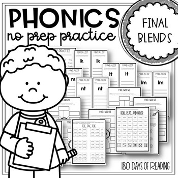 Consonant Blends Worksheets