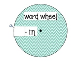 ending consonant blend word wheel