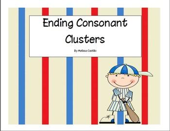 Ending Consonant Blends Sort
