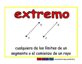 endpoint/extremo geom 2-way blue/rojo