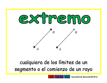 endpoint/extremo geom 2-way blue/verde