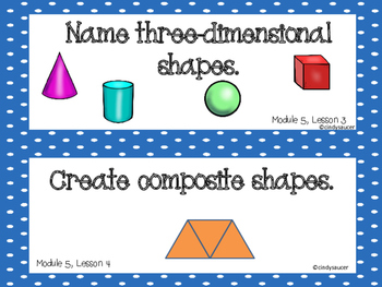 Engage NY, 1st Grade Math, Module 5, I Can Statements and Much More