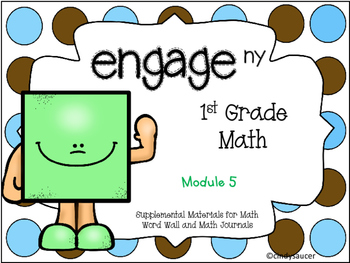Engage NY, 1st Grade Math, Module 5, I Can Statements and