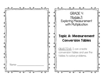 EngageNY 4th Grade Math Module 7