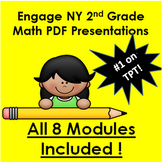 engageny MATH for Second Grade PDFs!  All 8 Second Grade Modules!