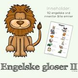 engelske gloser II
