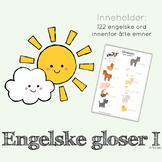 engelske gloser I