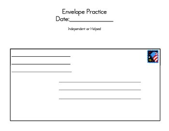envelope practice