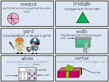 """envision 2.0 2nd Grade-Focus """"I Can"""" Walls and Vocabulary Words"""