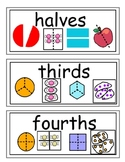 envision Grade 3 Topic 12 Vocabulary Word Wall Cards