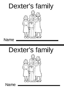 er Dexter's Family Phonogram Early Emergent Reader Book