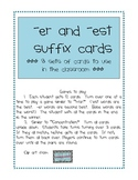 er and est suffix cards