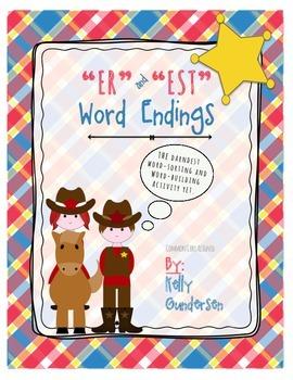 """er"" and ""est"" word endings center activity"