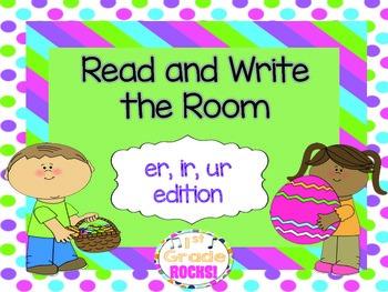 er, ir, ur Read and Write the Room