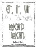 er, ir, ur Word Work