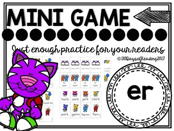 er  r-controlled Phonics Game