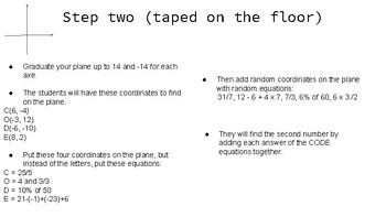 Escape the math class - Math grade 6-7-8