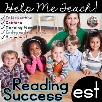 est Word Family: Intervention, Homework, Morning Work, Centers,