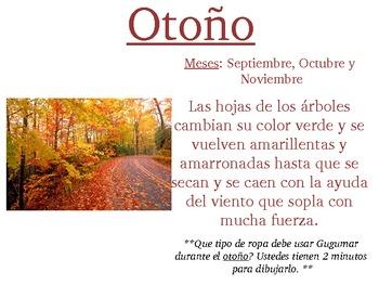 estaciones- seasons