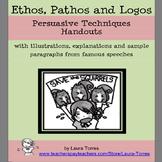 Persuasive Writing: Ethos, pathos, logos handouts