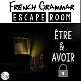 être and avoir- French Grammar Escape Room