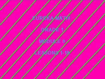 eureka math MODULE 3 first grade