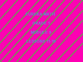 eureka math module 3 lessons 11-13 first grade