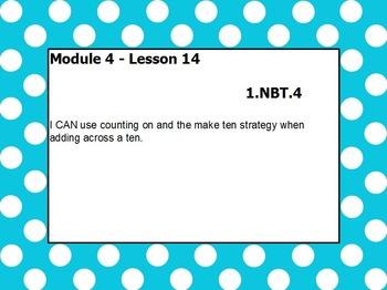 eureka math module 4 lesson 14 first grade