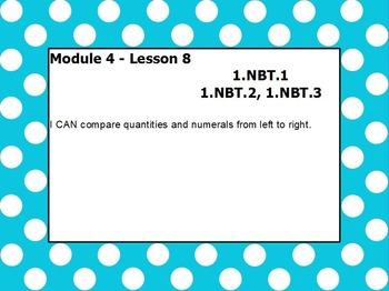 eureka math module 4 lesson 8 first grade
