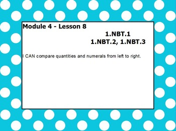 eureka math module 4 lesson 8 first grade
