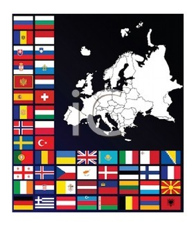 european flags clipart