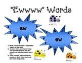 """ew"" Phonics Stars"