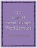 ew Vowel Digraph Word Search Bundle