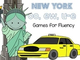 ew, oo, u-e Games For Fluency