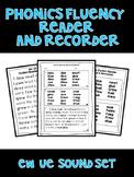 ew ue - Phonics Fluency Assessment